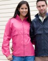 Hot Pink and Navy Blue unisex windcheater