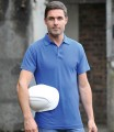 Royal Blue workwear polo shirt