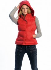 Hooded bodywarmer